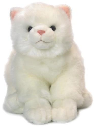 Duży Pluszowy Biały Kot 33cm Anna Club Plush Zabawkownia