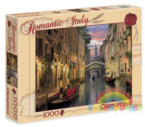 088da1e7 Clementoni puzzle 1000 elementów Romantic Italy - Wenecja ZABAWKOWNIA