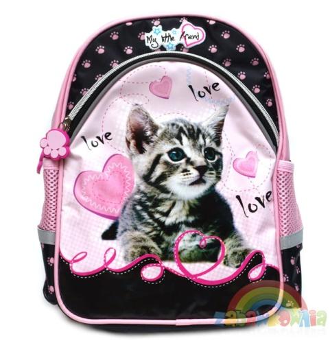 c97b000dc7c70 plecaczek szkolno wycieczkowy My Little Friend - kotek ZABAWKOWNIA