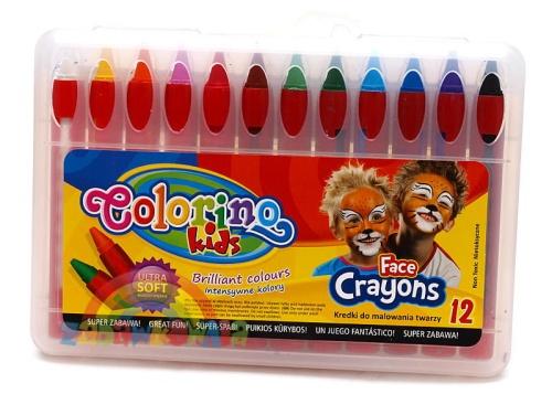75cbcdcdfe430 Colorino Kids - kredki do malowania twarzy 12 kolorów ZABAWKOWNIA