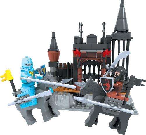 Klocki Dromader 27501 Rycerze Zamek Czarnego Barona 220 Elementy