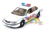Chevrolet Impala 2001 Police 1:24 WELLY