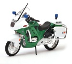 BMW R1100 RT POLIZEI green 1:18 model motocykla WELLY