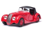 BMW 328 soft top 1:34-39 model WELLY