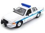 Ford Crown Victoria Chicago Police model Welly w skali 1:24