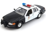 Ford Crown Victoria Los Angeles Police model Welly w skali 1:24