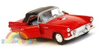 Ford Thunderbird soft top 1955 1:34-39 model WELLY
