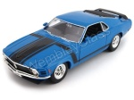 Ford Mustang Boss 302 1970 1:24 WELLY 22088 model do składania