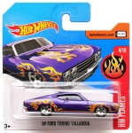 HOT WHEELS  FLAMES 1969 Ford Torino Talladega