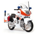 BMW R1100 RT POLIZEI orange 1:18 model motocykla WELLY
