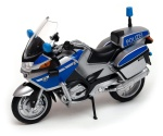 BMW R 1200 RT POLIZEI 1:18 model motocykla WELLY