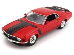 Ford Mustang Boss 302 1970 1:24 WELLY 22088