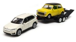 BMW X5 2014 Mini Cooper 1300 laweta 1:34-39 model WELLY