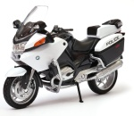 BMW R 1200 RT POLICE 1:18 model motocykla WELLY