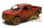 Ford F-150 SVT Raptor SuperCrew 2013 DUST 1:34 model KINSMART