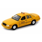 Ford Crown Victoria NY TAXI 1999 yelow cub 1:34-39 model Welly