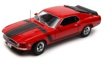 Welly model 1:18 Ford Mustang Boss 302 1970