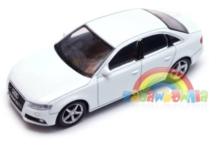Audi A4 - model Welly skala 1:43