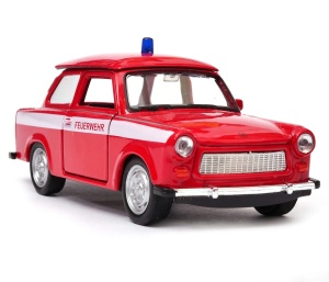 Trabant straż pożarna 1:34 - 1:39 model WELLY