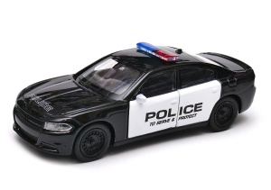 Dodge Charger R/T  2016 POLCE 1:34 - 39 WELLY