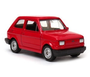 Fiat 126p 1:60 model WELLY legendy PRL
