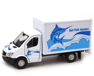 Mercedes-Benz Sprinter furgon 1:34-39 model WELLY