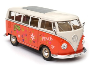 Volkswagen Classical Bus T1 1963 Love 1:24 WELLY