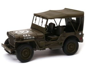 model Jeep 1941 Willys MB 1:18 Welly