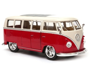Volkswagen Classical Bus T1 1963  1:24 WELLY tunning