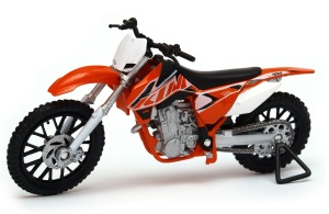 motocykl KTM 450 SX-F 1:18 model WELLY