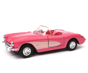 Chevrolet Corvette 1957 1:34 - 39 model WELLY