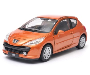 Peugeot 207 - model Welly skala 1:34-39