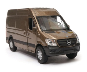 Mercedes-Benz Sprinter Panel Van 1:34-39 model WELLY