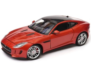 Jaguar F-Type Coupe model Welly w skali 1:24