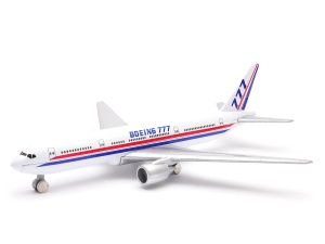 Model Welly w skali 1:500 samolot Boeing 777