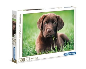 Puzzle 500 High Quality Collection Chocolate Puppy