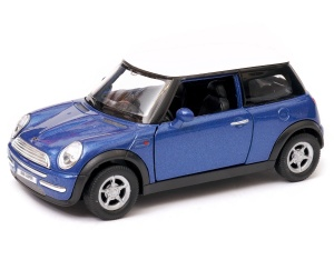 Mini Cooper S 1:34 - 1:39 model WELLY