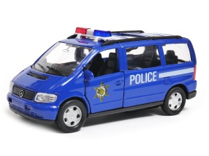 Mercedes-Benz V-Class policja 1:34-39 model WELLY