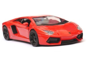 Lamborghini Aventador LP700-4 - model Welly skala 1:34