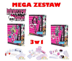 Wild Science Dromader Doktor Lab Monster High - Zestaw 3w1 PROMOCJA