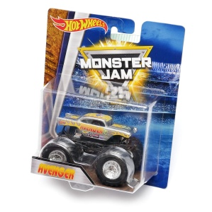 HOT WHEELS Monster Jam  - Avenger silver