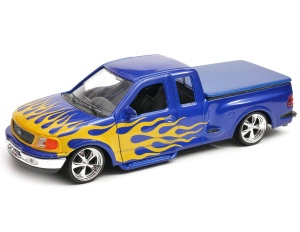 Ford F-150 Flareside Supercab Pisk Up 1999 tunning model Welly w skali 1:24