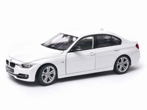 BMW 335i model Welly w skali 1:24