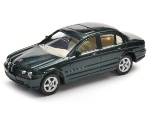 Jaguar S-Type 1:60 model WELLY