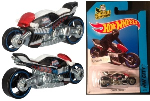 HOT WHEELS  HW CITY Cnyon Carver Police