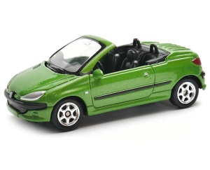 Peugeot 206 CC 1:60 model WELLY