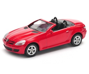 Mercedes-Benz SLK350 open top 1:60 model WELLY
