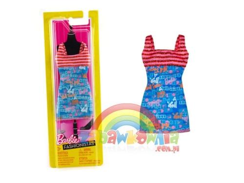 be7e20e63ea98f Fashionistas - sukienka dla Barbie W3173 ZABAWKOWNIA