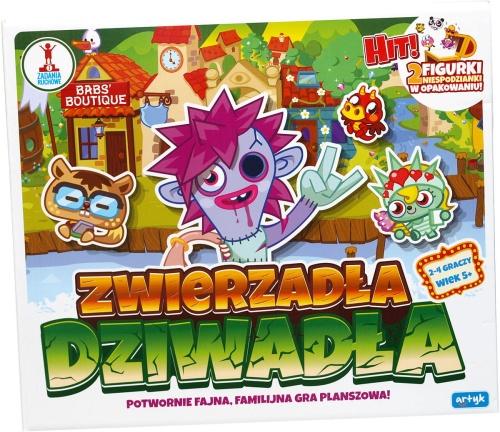 Gra Planszowa Z Figurkami Zwierzadla Dziwadla 2 Figurki Moshi