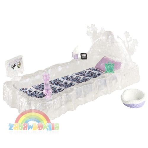 Monster High Lodowe łóżko Abbey Bominable